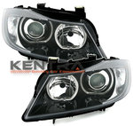 Kentra BMW E90 E91 led angel eyes koplampen set 1