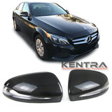 Kentra Mercedes W205 S205 W212 W222 GLC X253 Carbon spiegelkappen set 2