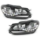 VW Golf 6 LED, Xenon Look Koplampen set_