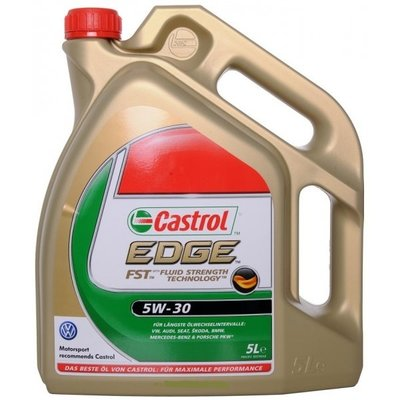 motorolie - 5 liter Castrol Edge 5W-30
