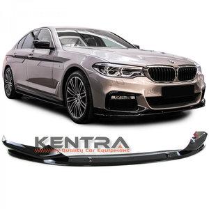 Kentra BMW G30 glans zwarte voorbumper spoiler 1