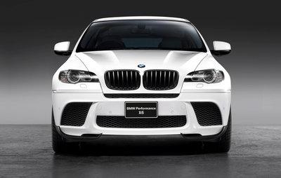 BMW X6 E71 Performance aerodynamicapakket