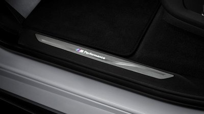 BMW M Performance dorpellijsten LED