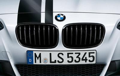 BMW F20 F21Performance Glans Zwarte Grill Nieren