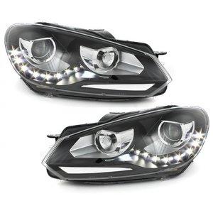 VW Golf 6 LED, Xenon Look Koplampen set