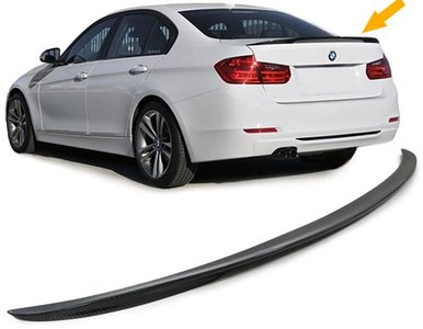 BMW 3 serie F30 Carbon Performance M Styling Koffer Spoiler