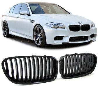 BMW F10 F11 Nw model 5 Serie Performance Styling Mat Zwarte Grill Nieren