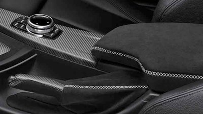 BMW M Performance alcantara armsteun voor 1 Serie F20/F21
