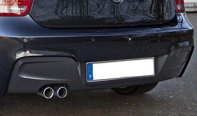 BMW F20 F21 Originele M diffuser voor M achterbumper