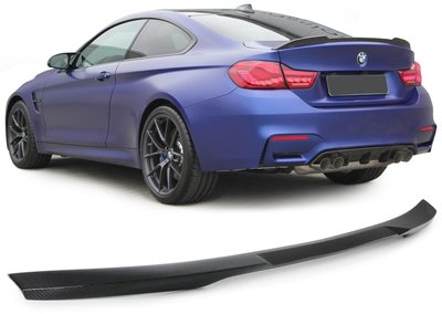 Kentra BMW 4 serie F32 Coupe M4 styling Carbon Koffer Spoiler 51622334545